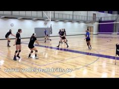 The best youth volleyball players do a Shuttle Warm Up - YouTube