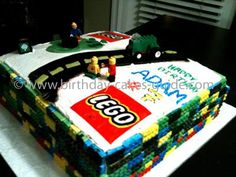 Easy Birthday Cake Ideas on Lego Cake Recipe Ideas  Pictures And Design