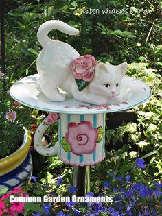Wir lieben Garten Garten Dekor Yards 83 - Home Decors - Diy Glass Garden Flowers, Glass Garden Art, Glass Art, Garden Crafts, Diy Garden Decor, Garden Projects, Garden Ideas, Garden Decorations, Art Crafts