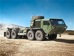 M977 A4 HEMTT Oshkosh Military Cargo Truck data sheet description information intelligence identification pictures photos images US Army United States American defense Heavy Expanded Mobility Tactical Truck