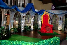 Decorating Ideas » Kingdom Rock VBS. A great backdrop created by our friends at Group. You can create something like this too! Watch the decorating videos at concordiasupply.com