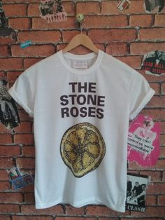 Men's The Stone Roses indie t shirt/T-shirt/tee (Woman's fit also available) by BADYOUTHTEES on Etsy