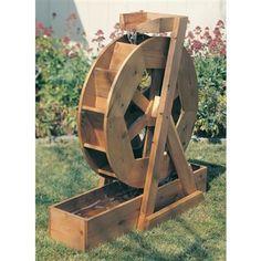 Buy Water Wheel Plan No 891 at Woodcraft