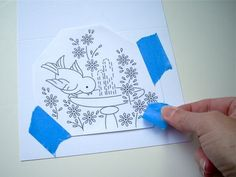Marie-Grace & Cecile How to Embroider a Greeting Card - CraftStylish
