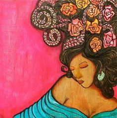 Perfume de Gardenia, by Anna Alvarado. S)
