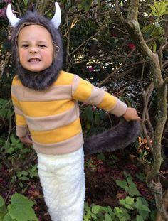 Halloween Costume Wild Things CAROL Kids Costume for boys, girls, toddler, children Where the Wild Things Are by BooBahBlue on Etsy https://www.etsy.com/listing/188791351/halloween-costume-wild-things-carol-kids
