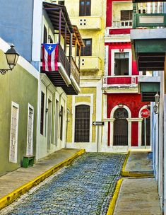 Love all the color of old San Juan, Puerto Rico.