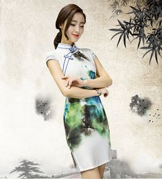Find More Cheongsams Information about Vintage Sexy Chinese Women's Dress Cheongsam QiPao Slim,High Quality cheongsam qipao,China dress cheongsam Suppliers, Cheap chinese dress qipao from June Moon on Aliexpress.com