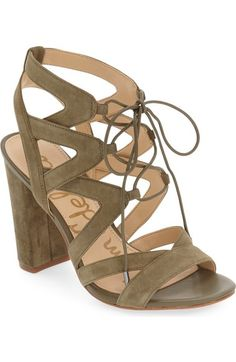 26a335f873ca17 SAM EDELMAN  Yardley  Lace-Up Sandal (Women).  samedelman