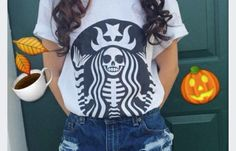 Halloween White T shirt - Fresh-tops.com