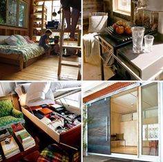 Small Spaces and Teeny-Tiny Homes All Under 400 Sq. Feet!