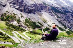 The Stelvio Pass (36 hairpins side)! #motorcycle #tour #italy