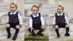 Royal family releases Christmas photos of Prince George in soldier jumper | Entertainment & Showbiz from CTV News