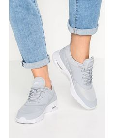ba77685953 Nike Air Max Thea Grey White Trainers Rose Gold Trainers, Sale Uk, Air Max