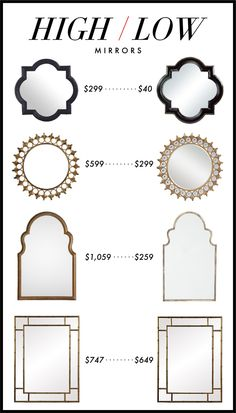 Kelly Market: HIGH/LOW: MIRRORS