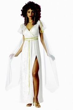Athena Costume - feel like a goddess in this fancy dress outfit!