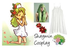 """196-> Shaymin Cosplay"" by dimibra ❤ liked on Polyvore featuring CP Shades"