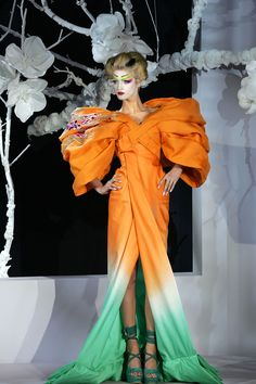 Designer John Galliano For Christian Dior Couture Spring/Summer 2007