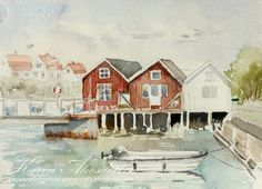 I just got back from a week on Åstol, a small - very small (-: - Island an hour North of Gothenburg. I absolutely love this Place and with o. Crab Art, Next Sunday, Gothenburg, Play Soccer, Watercolor Sketch, Watercolors, Sketches, Crabs, Small Island
