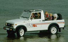 Suzuki-Samura-LWB-convertible-top-down Photo