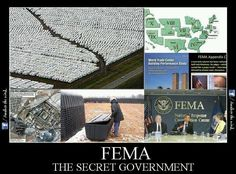 FEMA is constructing POW camps at this very moment across America that will be like concentration camps. https://www.facebook.com/pages/Bless-the-LORD-Oh-My-Soul-II/328295257292155