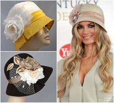 love the hat on the right.  wonder if i could pull that off?  :)