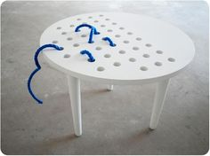 could make with any scrap wood . doesn't have to be a table Marta Niemywska: SSSTOLIK