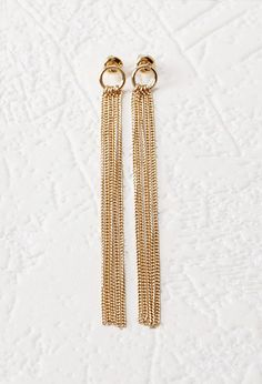 Chain Fringe Duster Earrings | Forever 21 | #f21accessorize