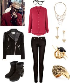 "Outfit inspired by Big Bang's G-Dragon in ""Crooked"" MV"