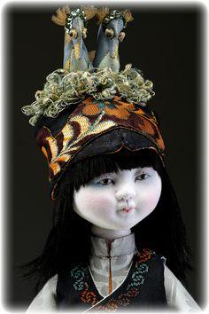 rootie studio: Story Dolls by Leslie Molen