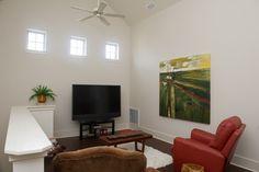Second level lounge area