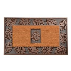 No Trax Cocoa Leaf Mat | from hayneedle.com