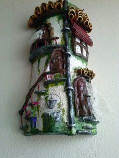 teja decorada en relieve from.my hands