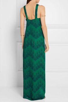 Diane von Furstenberg   Lilita printed silk-chiffon maxi dress   NET-A-PORTER.COM