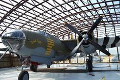 "WW II Plane, Utah Beach, Normandy France.  ""Dinah Might"""