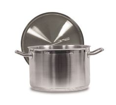 Stainless Steel Deep Stock Pot Soup Saucepan Casserole Catering Pan With Lid To Prevent And Cure Diseases Saucepans & Stockpots Home, Furniture & Diy