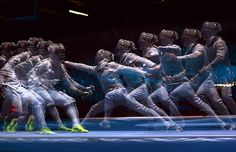 Awesome London 2012 Olympics Multiple Exposures - My Modern Metropolis #fencing
