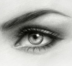 Drawing Eyes Eye drawing- Original graphite art on bristol vellum, Etsy Artwork by Gabrielle - Realistic Eye Drawing, Drawing Eyes, Painting & Drawing, Portrait Au Crayon, Pencil Portrait, Pencil Art, Pencil Drawings, Eye Pencil Drawing, Lead Pencil