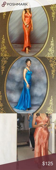 Teal or Burnt Orange prom formal dress More details soon (not Michael kors) KORS Michael Kors Dresses Prom