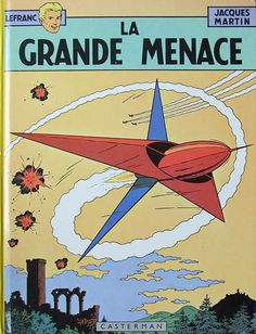 Lefranc -1- La grande menace  -  1954