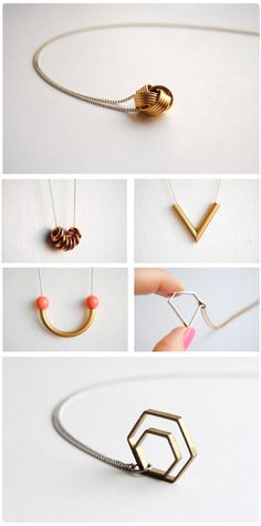 geometry jewelry. by Erin Graves.