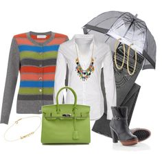 Días de Lluvia, created by outfits-de-moda2 on Polyvore