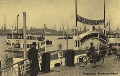 Havenrondvaart, de Spido, Rotterdam 1954 ©HEMA