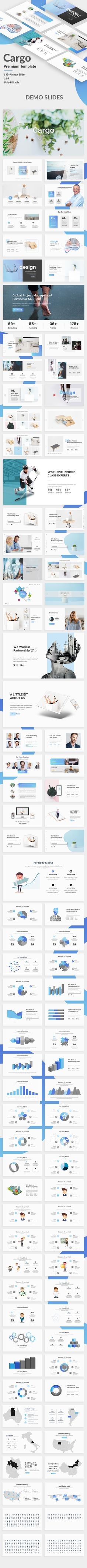Cargo Creative Google Slide Template - Google Slides Presentation Templates