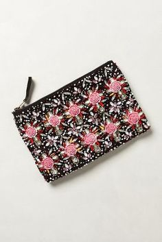 12b65d873dc Espaliered Beads Pouch Fab Bag, Anthropologie, Bag Accessories, Purses And  Bags, Winter