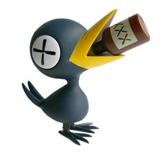 Playlounge - Vinyl Toys - Drinky Crow