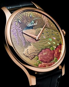 Chopard's watch_fashion_trend_peacock_exclusive_luxury