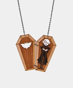 Creaky Coffin necklace