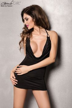Robe Miracle décolleté - Bomb girl - http://www.idplaisir.com/Robe-Miracle-decollete-Bomb-girl-a2810.html