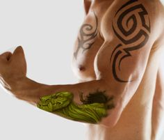 Forearm Tattoos For Guys | ... 2011-12 Hawaiian Turtle Cool Forearm Tattoo Design for Men – PieWay